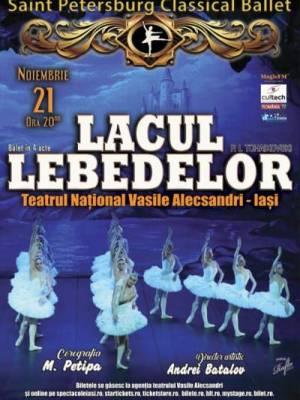 LACUL LEBEDELOR -  BALLET CLASSIQUE DE SAINT- PETERSBOURG
