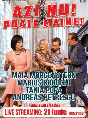 AZI NU! POATE MAINE! - Live Streaming