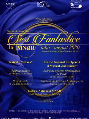 Seara de operetă românească la Palat