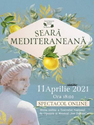 Seara Mediteraneana - Transmisie on-line