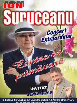 Concert Extraordinar Ion Suruceanu - Cantec de primavara - ora 17:00