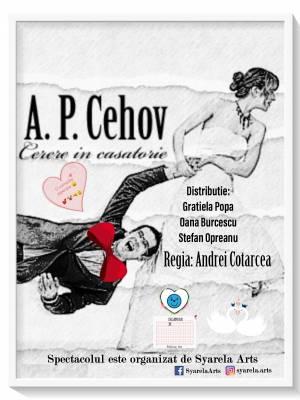 Cerere in căsătorie de A.P.Cehov