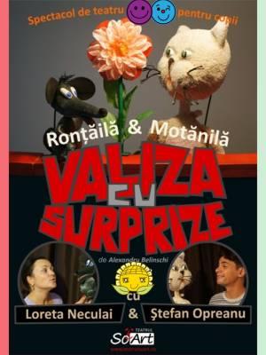 Rontaila si Motanila- Valiza cu surprize